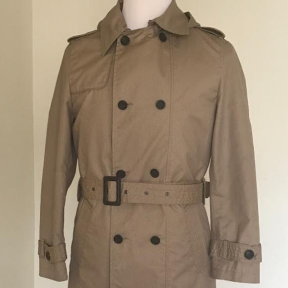 eb067d0d Zara Jackets & Coats | Man Double Breasted Trench Coat Size L | Poshmark